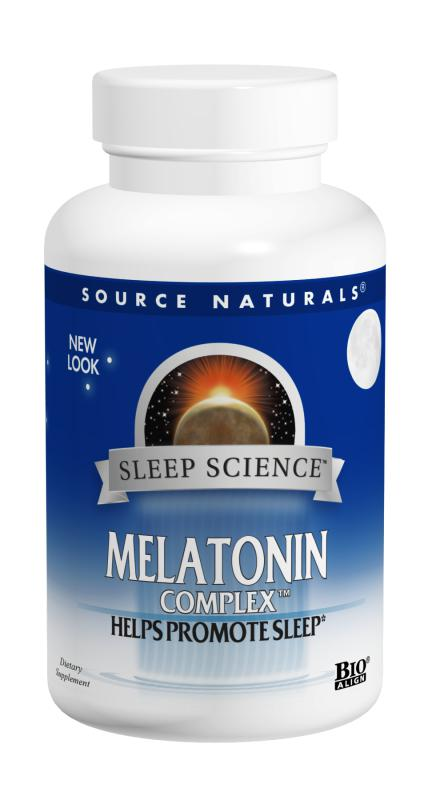 Sleep Science® Melatonin Complex™ bottleshot