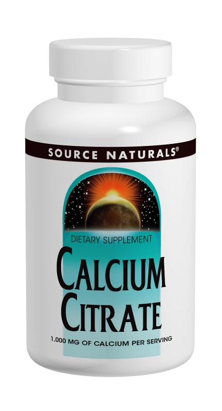 Calcium Citrate bottleshot