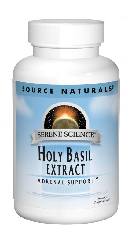 Serene Science® Holy Basil Extract bottleshot