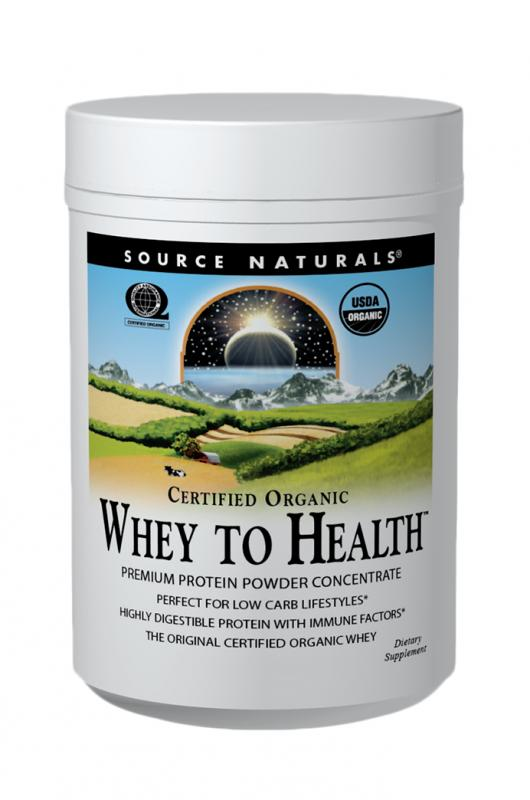 Whey to Health™ bottleshot