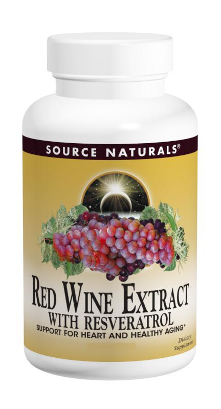 Red Wine Extract with Resveratrol bottleshot