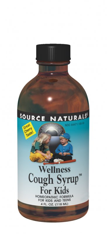 Wellness Cough Syrup™ for Kids bottleshot