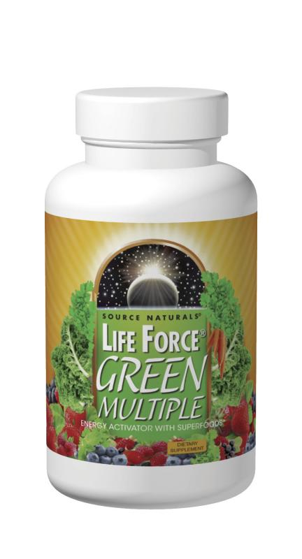 Life Force<span class='superscript'>®</span> Green Multiple bottleshot