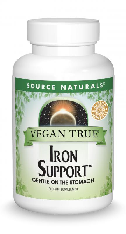 Vegan True® Iron Support™ bottleshot