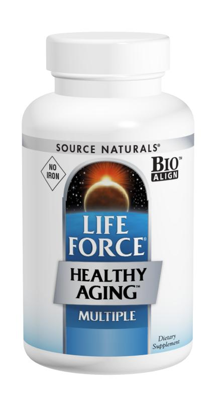 Life Force® Healthy Aging™ No Iron bottleshot