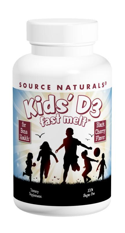 Kids' Vitamin D-3 bottleshot