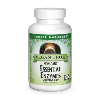Vegan True® Non-GMO Essential Enzymes® bottleshot