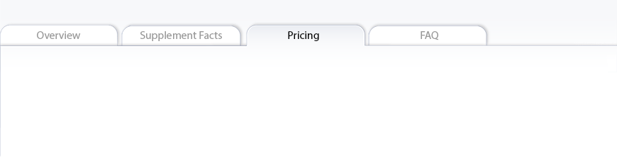 Serene Science<span class='superscript'>®</span> L-Theanine pricing tab