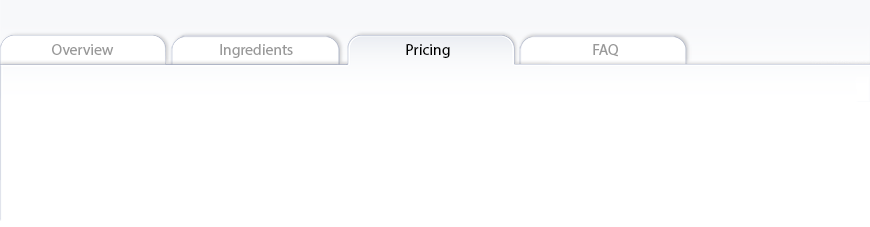 Migraine Blocker™ pricing tab
